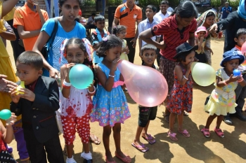 Avurudhu Uthsavaya for Medel Implanted Children