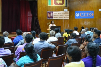 Public Meeting on Hearing Awareness in Colombo